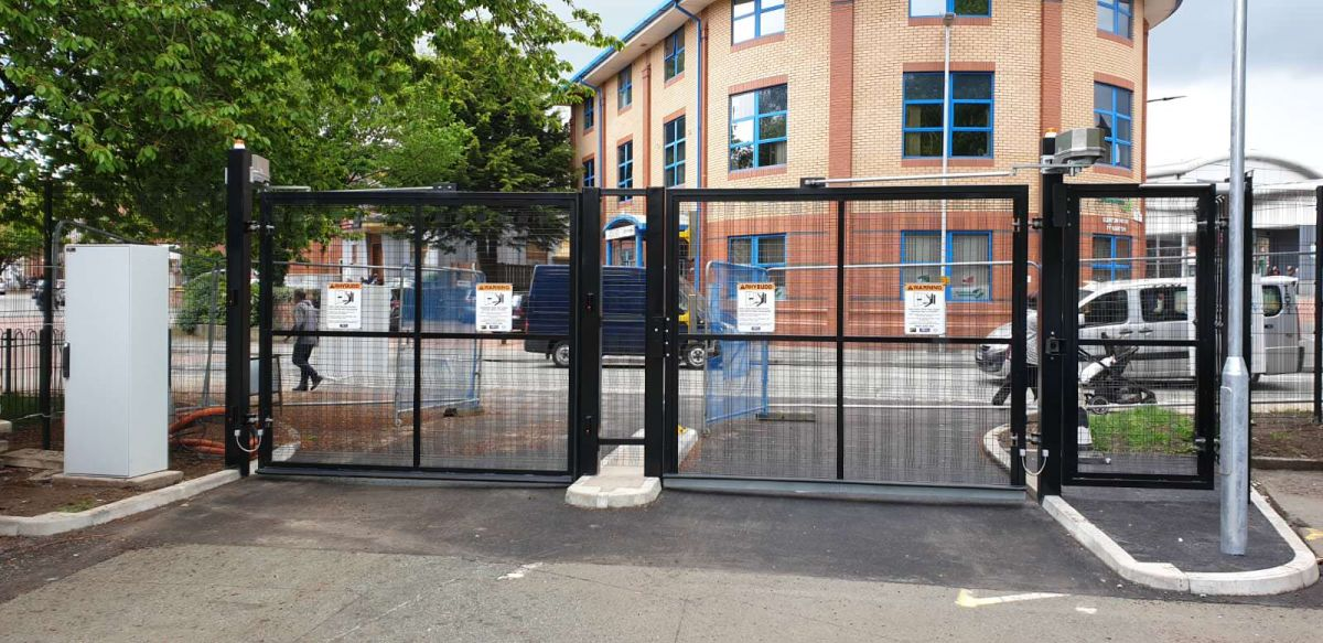 Security Swing Gates